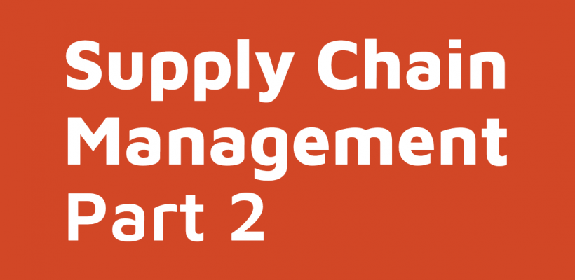 Supply Chain Management Part 2 | D365FO