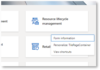 Create a new workspace in D365FO part 2
