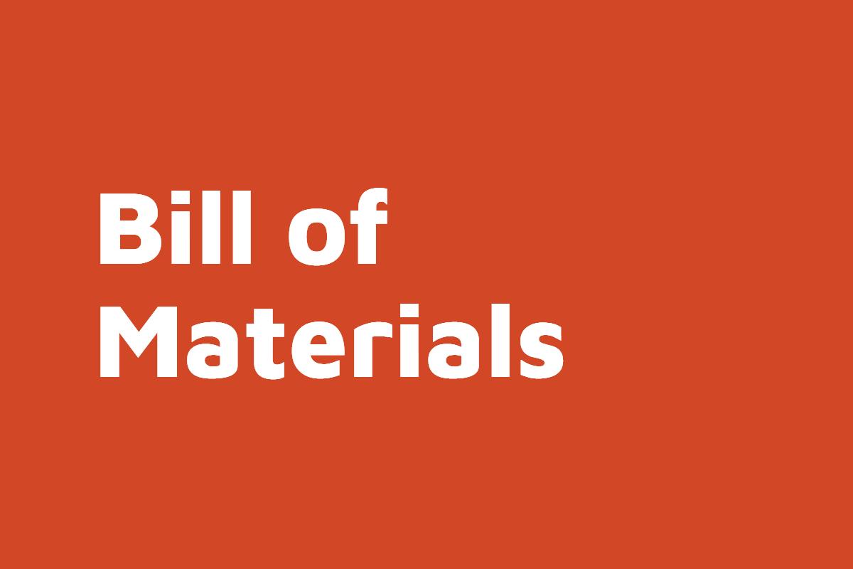 D365FO Bill of Materials
