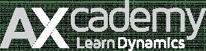 AXcademy logo byline grey