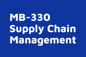 MB 330 Supply Chain Management on demand course