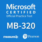 Official practice test for MB-320 Supply Chain Management, Manufacturing