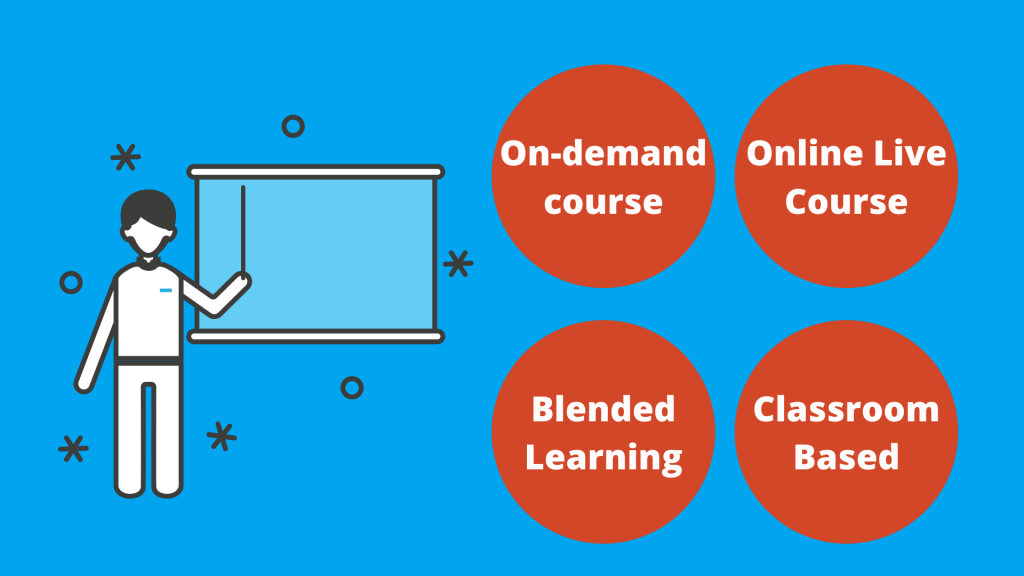 Which course type is right for me? On-demand, classroom, live online, blended | D365FO