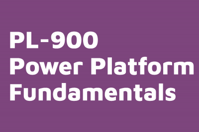 PL 900 Power Platform Fundamentals