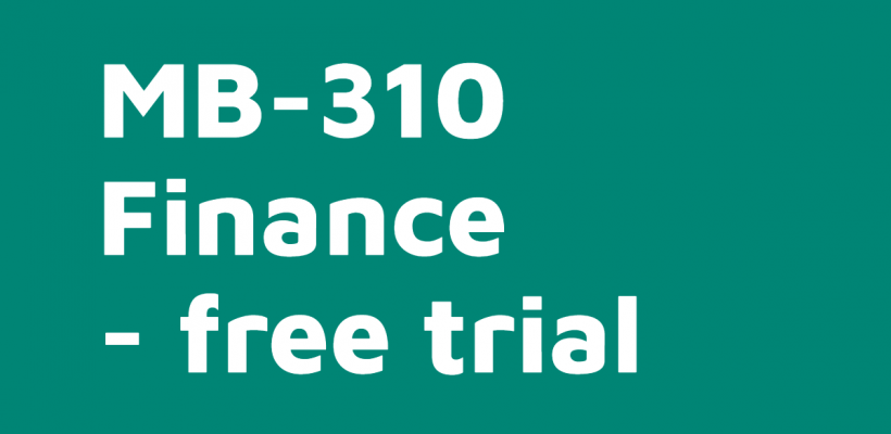 MB-310 Finance | Free trial course on-demand