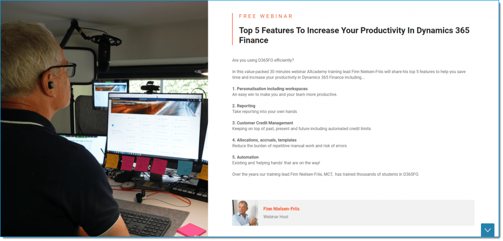 Top 5 Features to Increase Your Productivity In Dynamics 365 Finance