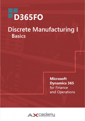 365FO Discrete Manufacturing Basics training materials