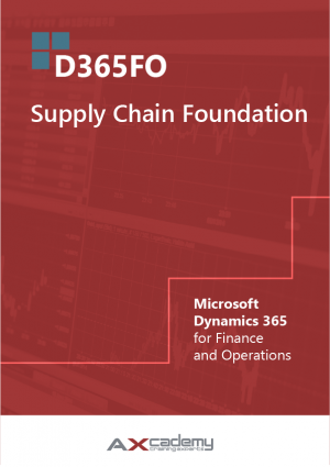 365FO Supply Chain Foundation training materials