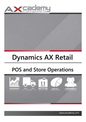 POS and Store Operations in Microsoft Dynamics AX 2012 for Retail - training materials