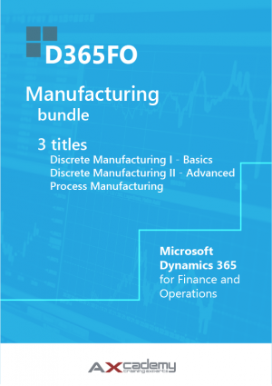 Bundle D365FO Manufacturing training materials