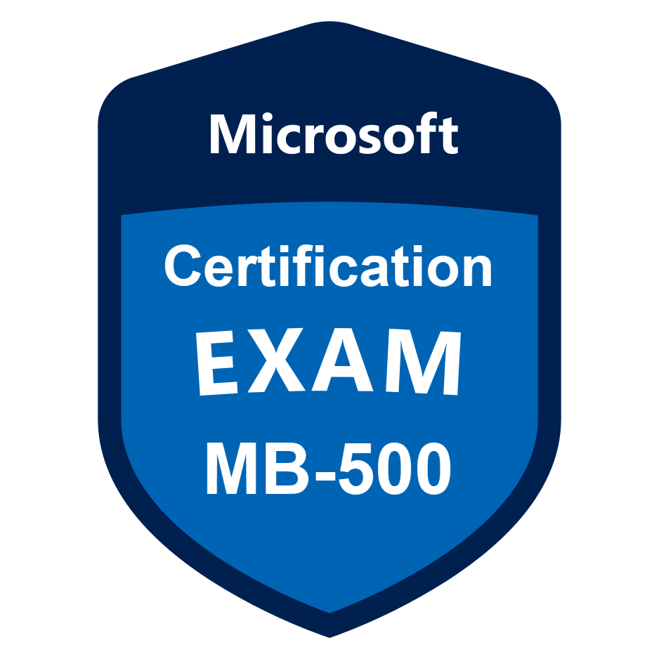 Exam MB 500 Dynamics 365 Finance and Operations Apps Developer axcademy