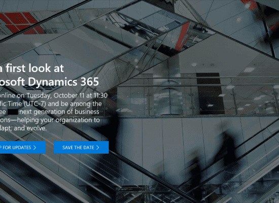 Get a first look at Microsoft Dynamics 365