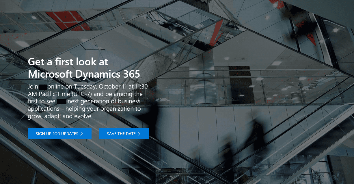 Microsoft Dynamics 365 first look