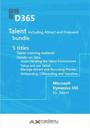 Microsoft Dynamics 365 for Talent training materials bundle