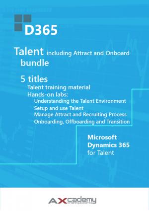 Microsoft Dynamics 365 for Talent training materials bundle