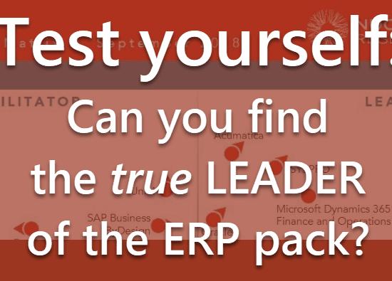 The ERP Value Matrix Quiz